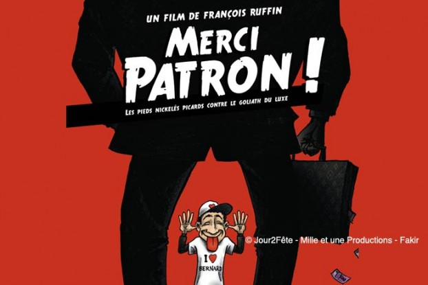 Projection-débat du film « Merci Patron ! »