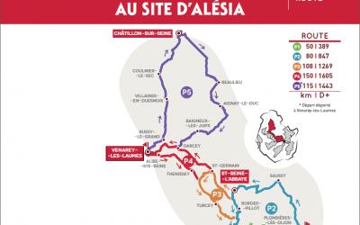 Mâlain, point d'accueil semaine fédérale cyclotourisme !