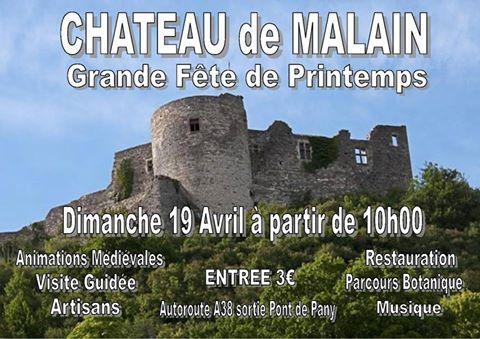 Fête du printemps au château de Mâlain