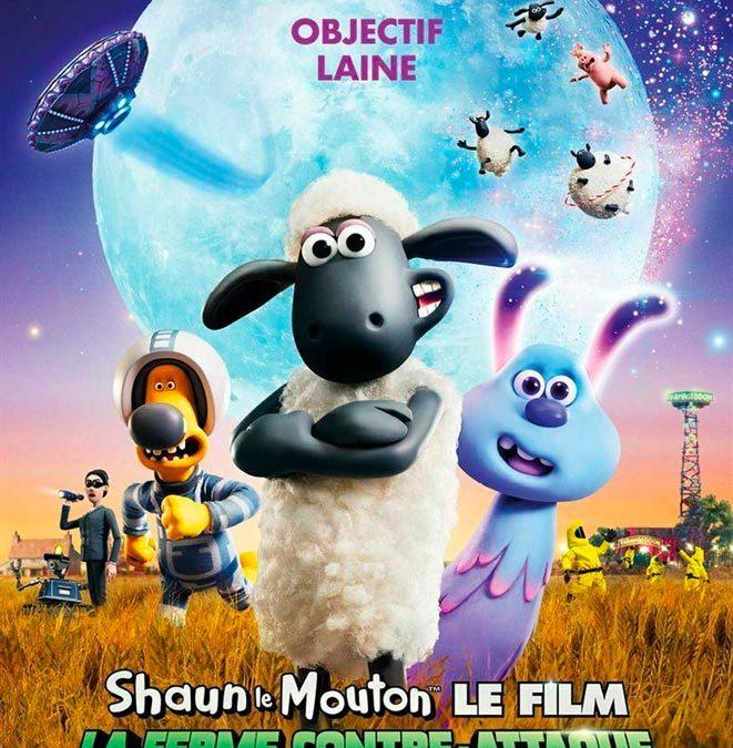 Shaun le mouton en sortie nationale le 16 octobre…
