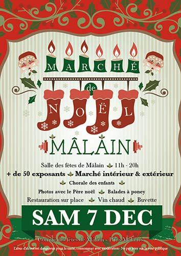 Marché de Noël à Mâlain