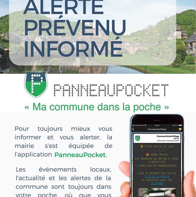 Application Panneau Pocket : Mâlain