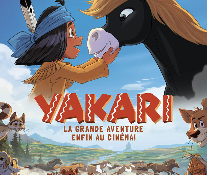 Ciné-vacances 14 octobre : «Yakari, la grande aventure»