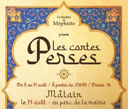 Le Théâtre de Mephisto sera à Mâlain le 14 août
