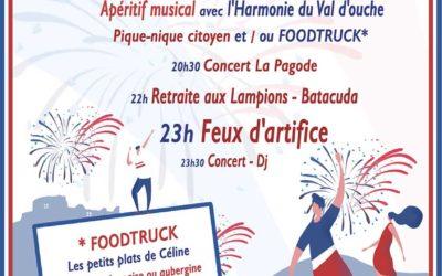 13 juillet : Festivités/Fête nationale
