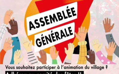 Assemblée générale du Comité de Fêtes
